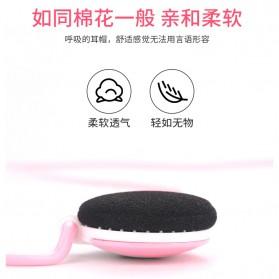 Shini Earhook Clip-on Headphone Sporty - SN-666 - Black - 10