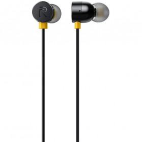 Realme Earphone Earbuds with Mic - Black