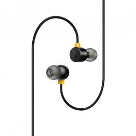 Realme Earphone Earbuds with Mic - RMA101 - Black - 2