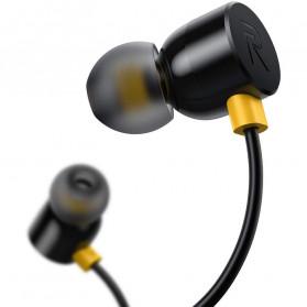 Realme Earphone Earbuds with Mic - RMA101 - Black - 4