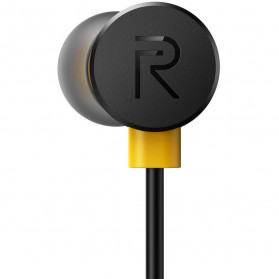Realme Earphone Earbuds with Mic - RMA101 - Black - 6
