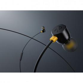 Realme Earphone Earbuds with Mic - RMA101 - Black - 8