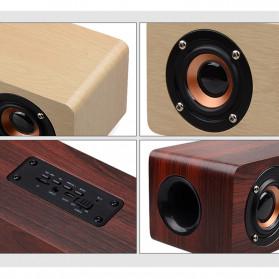 TOPROAD Soundbar Bluetooth Speaker Stereo Subwoofer - W8 - Brown - 5