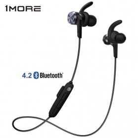 Jual - Elektronik - 1More iBFree Earphone Sporty Bluetooth 4.2 aptX + Mic - E1018BT - Black