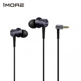 1More Piston Fit Earphone dengan Mic - E1009 (Replika 1:1) - Black