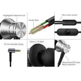 1More Piston Fit Earphone dengan Mic - E1009 (Replika 1:1) - Black - 3