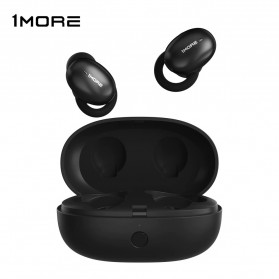 Xiaomi 1More TWS Earphone True Wireless Bluetooth 5.0 aptX ACC with Charging Case - E1026BT - Black