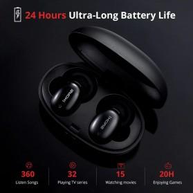 Xiaomi 1More TWS Earphone True Wireless Bluetooth 5.0 aptX ACC with Charging Case - E1026BT - Black - 3