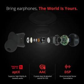 Xiaomi 1More TWS Earphone True Wireless Bluetooth 5.0 aptX ACC with Charging Case - E1026BT - Black - 4