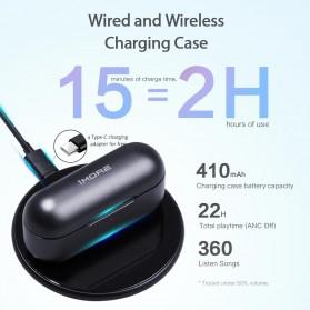Xiaomi 1More TWS Earphone Bluetooth 5.0 aptX ANC with Charging Case  - EHD9001TA - Black - 4