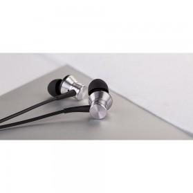 1More Piston Metal Stereo Earphone with Mic - E1009 (Original) - Gray - 8