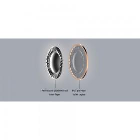 1More Piston Metal Stereo Earphone with Mic - E1009 (Original) - Gray - 9