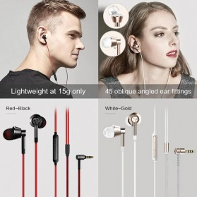 1More In-Ear Earphone Dynamic Driver with Mic - 1M301 - Titanium Gray - 2