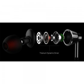 1More In-Ear Earphone Dynamic Driver with Mic - 1M301 - Titanium Gray - 6