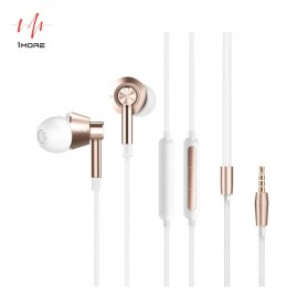 1More In-Ear Earphone Dynamic Driver with Mic - 1M301 - White - 1
