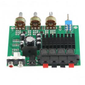 GHXAMP Stereo Audio Amplifier Speaker TPA3116D2 80Wx2 - XH-M570 - Black - 10