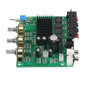 GHXAMP Stereo Audio Amplifier Speaker TPA3116D2 80Wx2 - XH-M570 - Black - 11