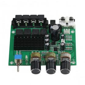 GHXAMP Stereo Audio Amplifier Speaker TPA3116D2 80Wx2 - XH-M570 - Black - 12