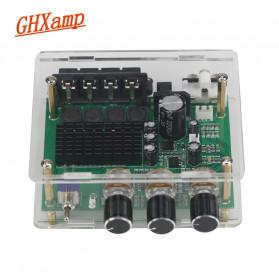 GHXAMP Stereo Audio Amplifier Speaker TPA3116D2 80Wx2 - XH-M570 - Black - 2