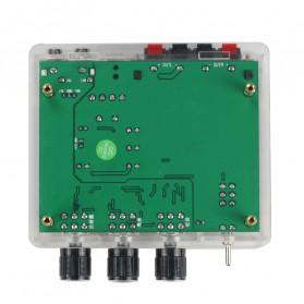 GHXAMP Stereo Audio Amplifier Speaker TPA3116D2 80Wx2 - XH-M570 - Black - 3