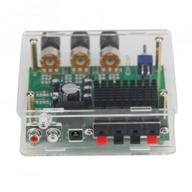 GHXAMP Stereo Audio Amplifier Speaker TPA3116D2 80Wx2 - XH-M570 - Black - 6