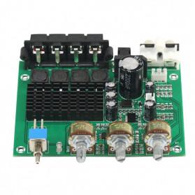 GHXAMP Stereo Audio Amplifier Speaker TPA3116D2 80Wx2 - XH-M570 - Black - 8