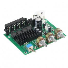 GHXAMP Stereo Audio Amplifier Speaker TPA3116D2 80Wx2 - XH-M570 - Black - 9