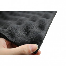 GHXAMP Busa Telur Peredam Suara Acoustic Foam Soundproof Noise Reduction 0.2 Meter x 1 Meter - XH-M1 - Black - 3