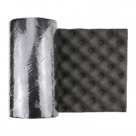 GHXAMP Busa Telur Peredam Suara Acoustic Foam Soundproof Noise Reduction 0.2 Meter x 1 Meter - XH-M1 - Black - 5