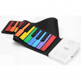 Beiens Piano Lipat Flexible Kids Digital Roll Up Keyboard 49 Key - ZJ30