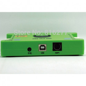 XOX Audio USB External Soundcard Live Boardcast Microphone Headset - K10 - Black - 8