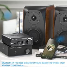 Fosi Audio Bluetooth 5.0 Preamplifier Mini HiFi Stereo Preamp Vacuum Tube - P1 Pro - Black - 5