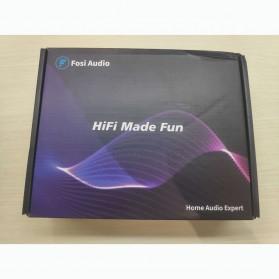 Fosi Audio Bluetooth 5.0 Preamplifier Mini HiFi Stereo Preamp Vacuum Tube - P1 Pro - Black - 8