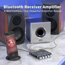 Fosi Audio Bluetooth 5.0 Amplifier 2.1 Channel Amp Receiver 2x50W + 100W Subwoofer - TB21 - Black - 2