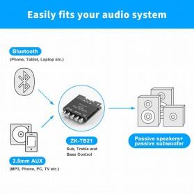 Fosi Audio Bluetooth 5.0 Amplifier 2.1 Channel Amp Receiver 2x50W + 100W Subwoofer - TB21 - Black - 6