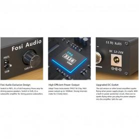 Fosi Audio Subwoofer Amplifier Mono Channel 100W TPA3116 - M02 - Black - 5