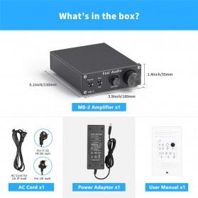 Fosi Audio Subwoofer Amplifier Mono Channel 100W TPA3116 - M02 - Black - 8