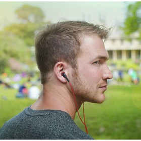 SoundMagic Earphone Dynamic Stereo Earbud - EP20 - Black - 2