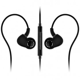 SoundMAGIC In Earphone with Mic and Volume Control -  PL30+C - Black