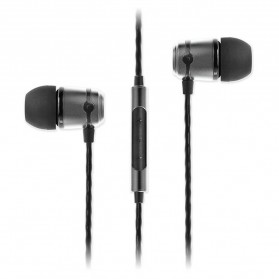 SoundMAGIC In Earphone Noise Isolating with Mic - E50C - Black