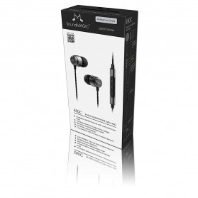 SoundMAGIC In Earphone Noise Isolating with Mic - E50C - Black - 8