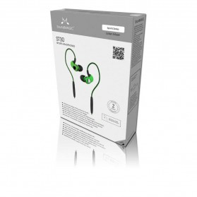 SoundMAGIC In Earphone Wire + Bluetooth Detachable with Mic - ST30 - Red - 5