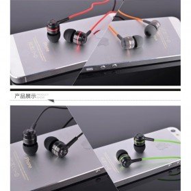 SoundMAGIC Earphones In-ear Sound Isolating Powerful Bass with Mic - ES18S - Black/Red - 8