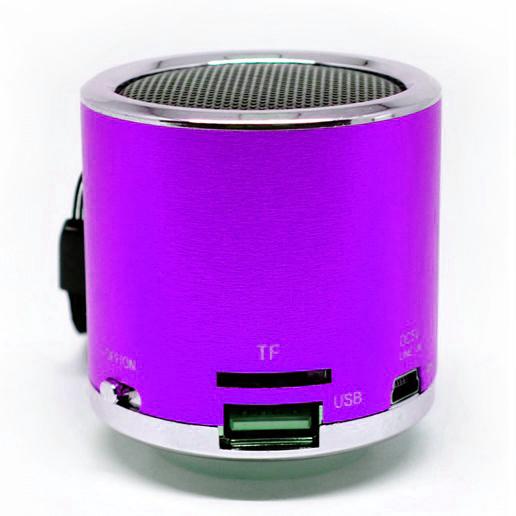 ... Speaker Mini Super Bass Micro SD USB FM Radio - Z-12 - Purple ...