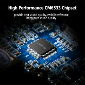 UGreen Sound Card External Laptop USB to Dual Jack 3.5mm - 30448 - White - 6
