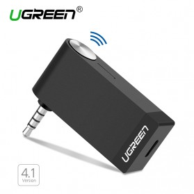 UGreen Bluetooth 4.1 Receiver With Microphone - Black - 1