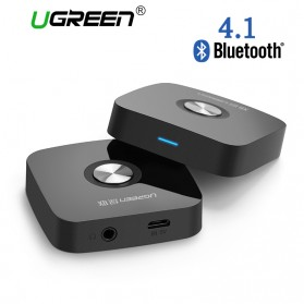 UGreen Bluetooth 4.1 Receiver Audio Adapter - Black - 1