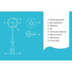 UGREEN Car Audio Bluetooth Receiver - Black - 3