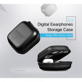 UGREEN Case Earphone EVA - LP128 - Black - 2