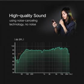 UGREEN Kabel Audio Splitter Jack 3.5mm 2 Port Earphone & Microphone - 30619 - Gray - 5